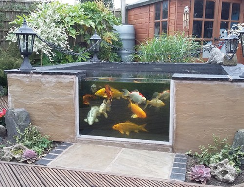 New Fibre Glass Pond Installed by Ponds Northwest